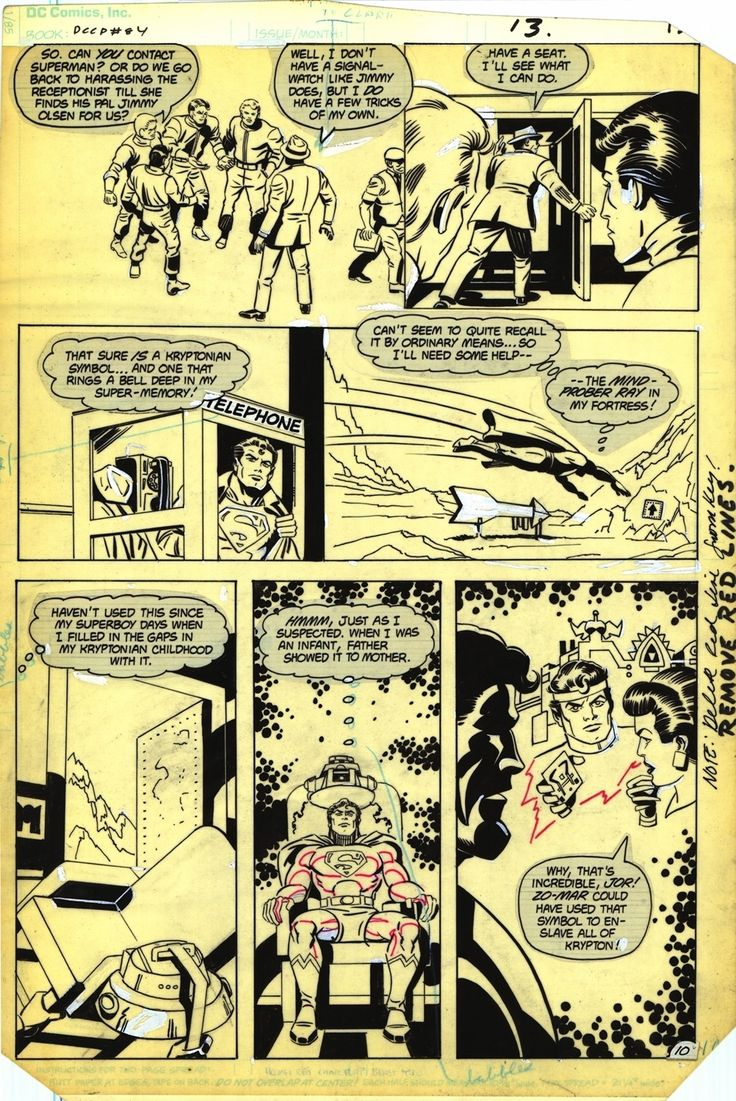 DC Comics Presents #84 / 10; Author: Jack Kirby   Greg Theakston; Publisher: DC Comics 1983