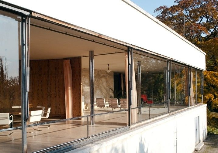 25 best images about mies villa tugendhat on pinterest. Black Bedroom Furniture Sets. Home Design Ideas
