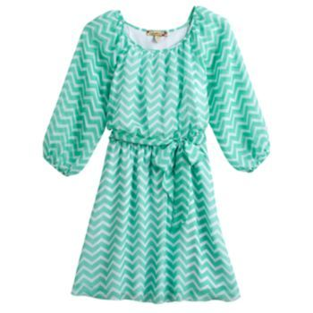 Speechless Chevron Dress - Girls size 7-16 at Kohls.I dont want I need!!!It is is on sale know for $25.00. Reagular price is $35.00.