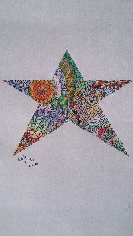 Coloured #star