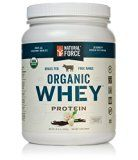 ULTRA-PREMIUM USDA ORGANIC WHEY PROTEIN POWDER - RANKED #1 BEST TASTING! Natural Force® Organic Whey is the cleanest and hands-down best tasting source of organic grass fed whey protein available. We Handcraft our Raw Organic Whey from the 10...