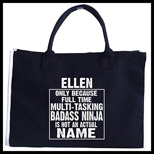 Ellen Cos Multi-tasking Ninja Is Not An Actual Name - Tote Bag