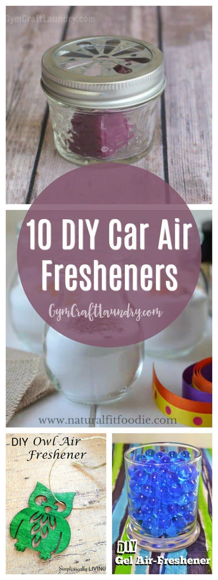 10 Homemade Car Air Fresheners you can make in a weekend via @herchel1