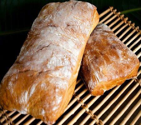 No-Knead Ciabatta Bread