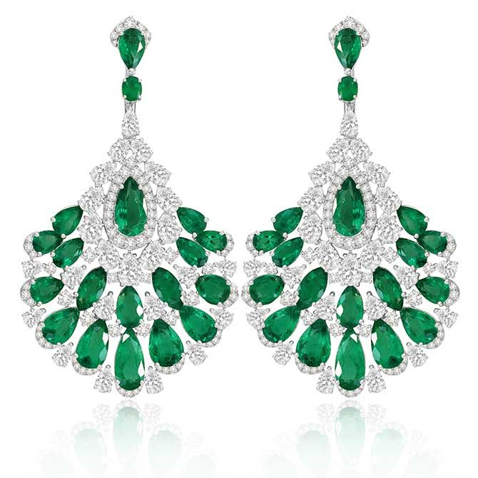 First Look Sutra Bows 10th Anniversary Jewelry Collection Sutra Jewels Green Gem Jewelry Anniversary Jewelry
