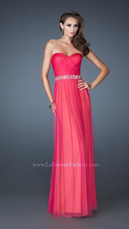 La Femme 18656   La Femme Fashion 2013 - La Femme Prom Dresses - Dancing  with