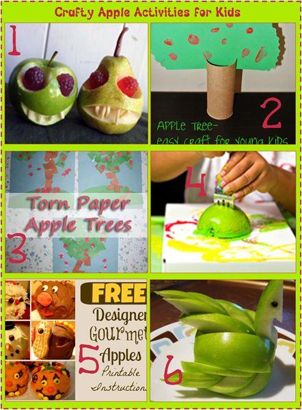 яблоко ремесленной деятельности для детей пальца 6 Лукавая Деятельность компании Apple для детей