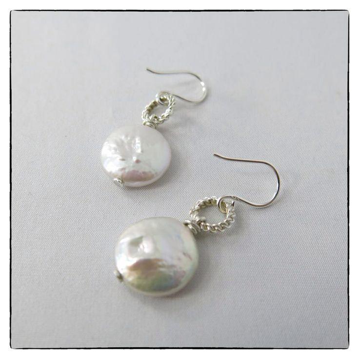 Ohrringe mit Coin Perlen