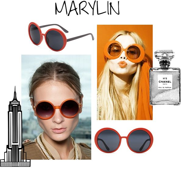 Marylin Sunglasses by Supa Sundays!  http://lemonfrankie.com.au/sunglasses/113-supa-sundays-sunglasses-marylin-citrus-orange.html