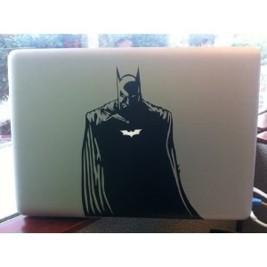 Batman Decal for Macbook, Air, Pro or Ipad