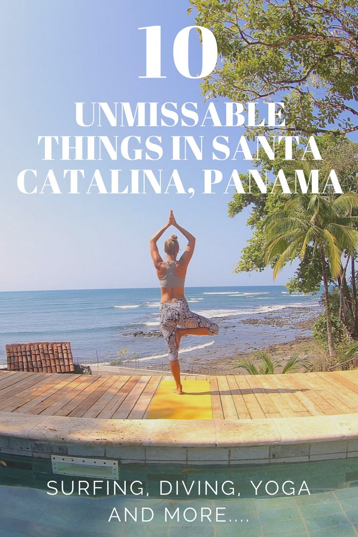 Ten Things You Absolutely Cannot Miss in Santa Catalina Panama. Panama Yoga, Surfing, Scuba Diving and more. Santa catalina panama hotels recommendation and things to do. Places to go in Panama and add you your bucket list. Part of the Ultimate Panama Travel guide. And one of the world's best surf breaks!  ☆☆ Travel Guide / Bucket List Ideas Before I Die By #Inspiredbymaps ☆☆