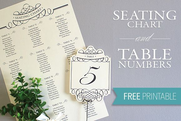 free printables  diy wedding seating chart and table numbers  elegant and oh so simply to create