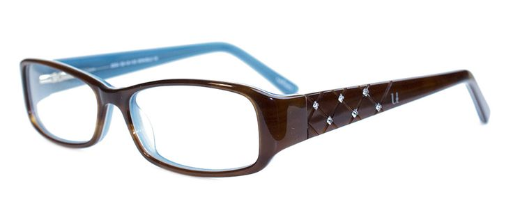 URBAN 2554 BROWN/BLUE | Vogue Optical - 2nd Pair Free - Designer Glasses, 2 Year Guarantee