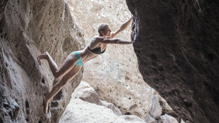 We went cliff diving and rock climbing with the stunt-person, athlete, and daredevil