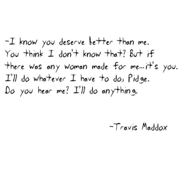 Travis Maddox. Beautiful disaster