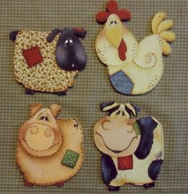 Animalitos de granja.