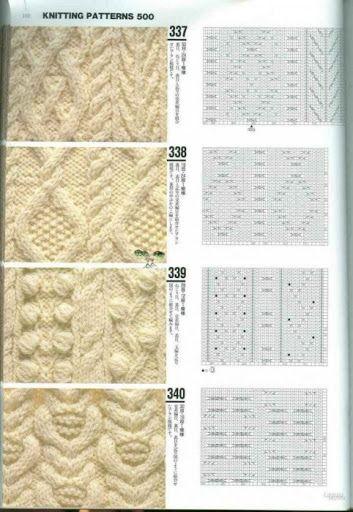 Узоры спицами, knit, knitting - Tatiana Alexeeva - Álbumes web de Picasa