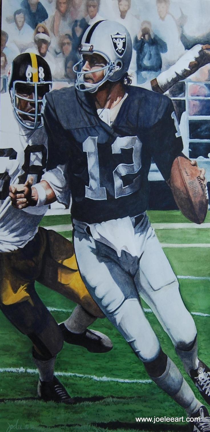 Original Sports Art - Ken Stabler