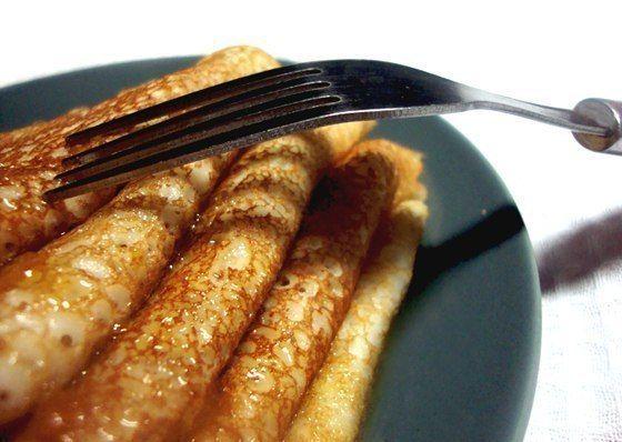 Нежнейшие блины на кефире с кипятком | Про рецептики - лучшие кулинарные рецепты для Вас!