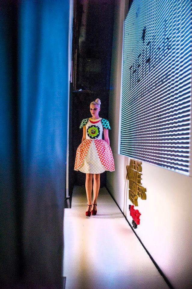 THEIAlab@AXDW My Dots Dress!