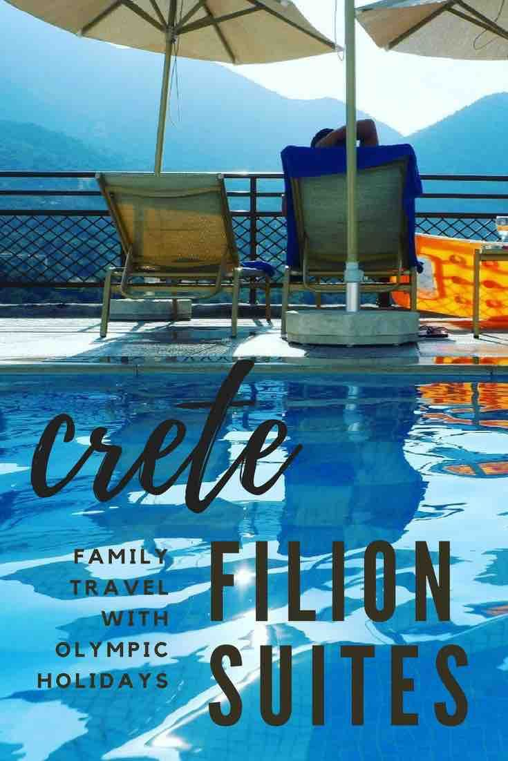Crete with Olympic Holidays: Filion Suites and Spa - A Modern Mother