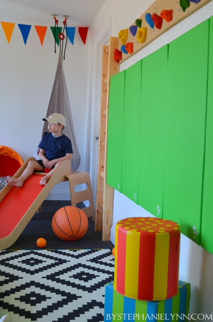 Kids Indoor Rock Climbing Wall  - DIY Sensory Playroom