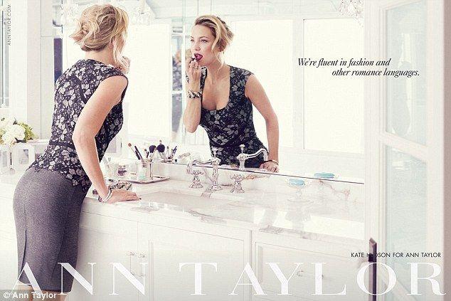 Kate Hudson con i nipoti nella nuova campagna Ann Taylor » GOSSIPpando | GOSSIPpando