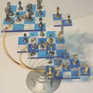The Official #StarTrek #3D #Chess Set by Franklin Mint is one of those #rare #collector's items that comes once in a #lifetime.   http://crazygeektoys.com/star-trek-tri-dimensional-chess-set-franklin-mint/  #CrazyGeekToys