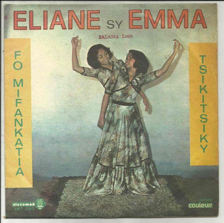 Eliane sy Emma/ Fo mifankatia/ Discomad/ 467090 - Madagascar Antiquités....Made in Mada
