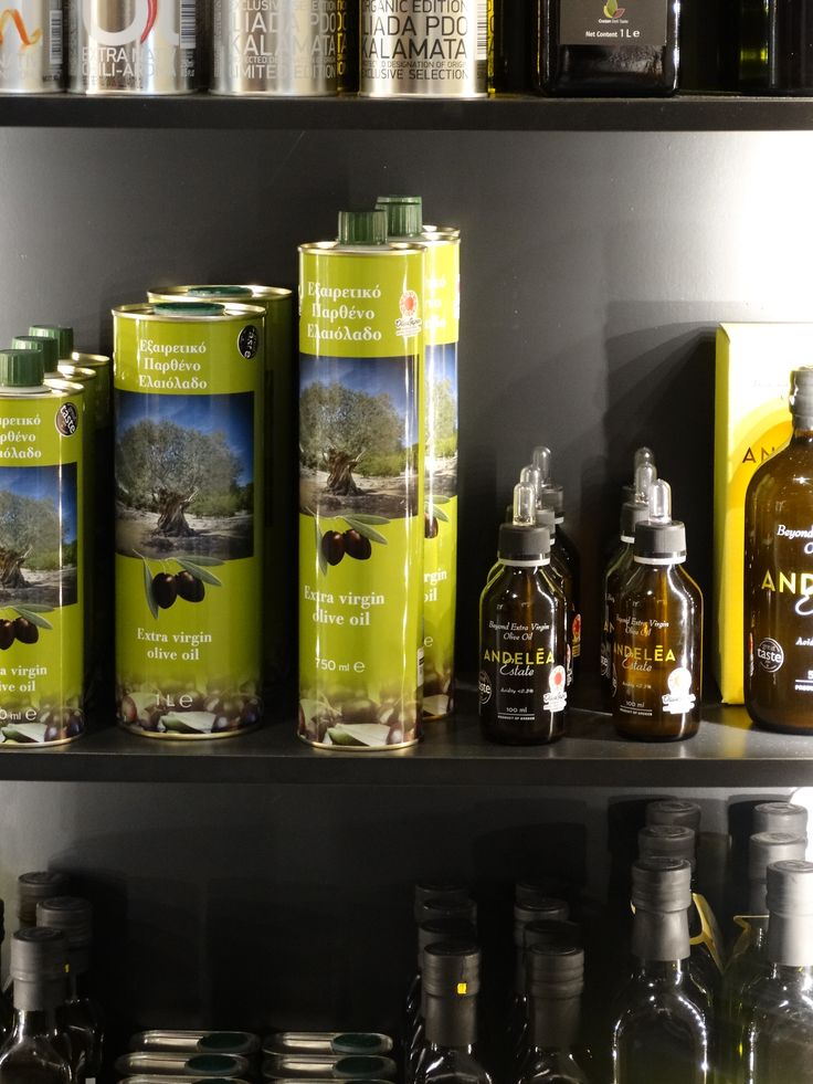 Our product on the shelf displayed in beautiful Yellow Amber Glass bottles.