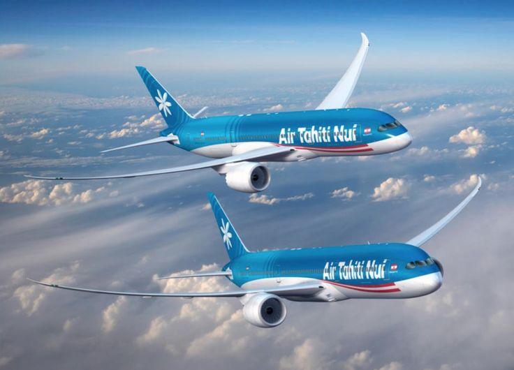 Visualisation de Boeing 787-9 aux couleurs d'Air Tahiti Nui - © ATN