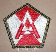 WW2 ERA US ARMY FIFTEENTH (15TH) ARMY INSIGNIA PATCH OD