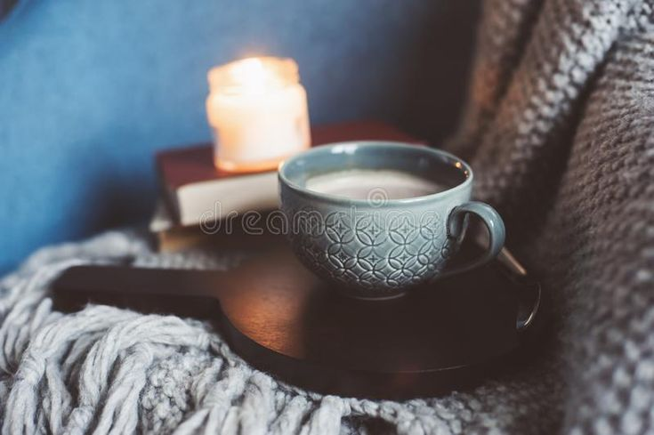 Download Cozy Winter Weekend At Home. Morning With Coffee Or Cocoa, Books, Warm Knitted Blanket And Nordic Style Chair. Hygge Concept. Stock Photo - Image of breakfast, casual: 104759726