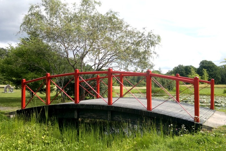 A Japan inspired bridge in the Botanical Garden of Ruissalo, Turku, Finland (photo AN)