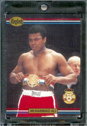 1991 RingLords Muhammad Ali Boxing Card #40 - Mint Condition - In Protective Display Case! - http://www.exercisejoy.com/1991-ringlords-muhammad-ali-boxing-card-40-mint-condition-in-protective-display-case/boxing/