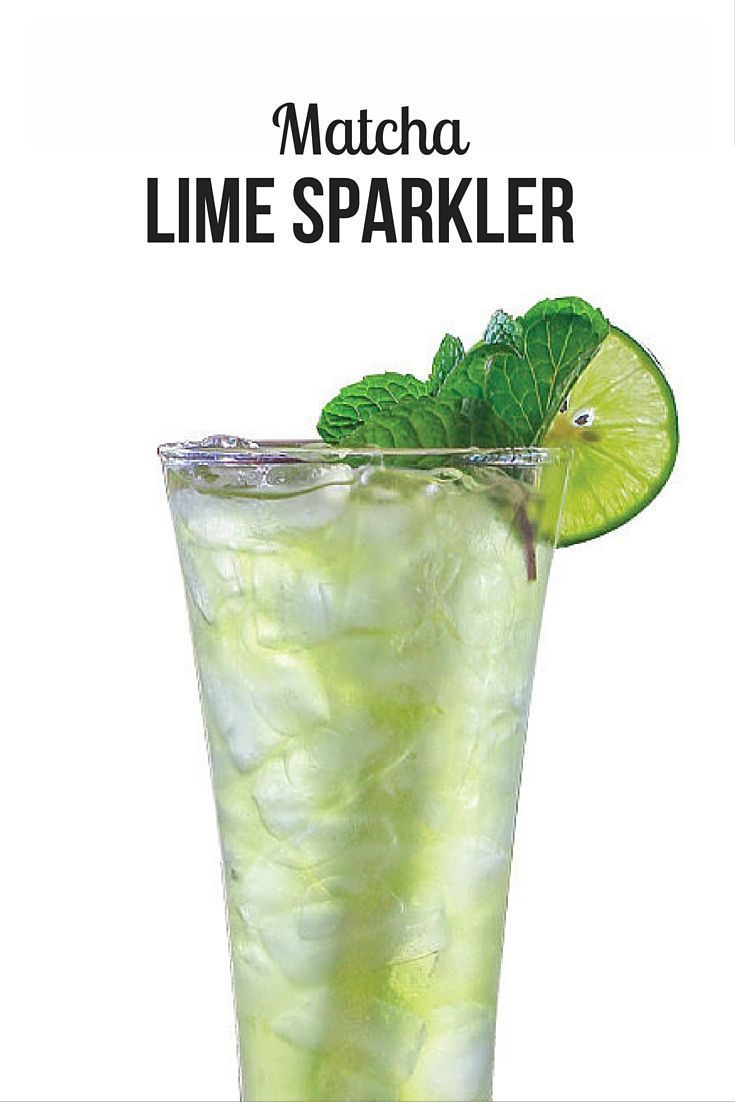 Add this matcha lime sparkler to your list of cold matcha drinks.  The sparkling water in this recipe makes sparkler fun to drink and make.