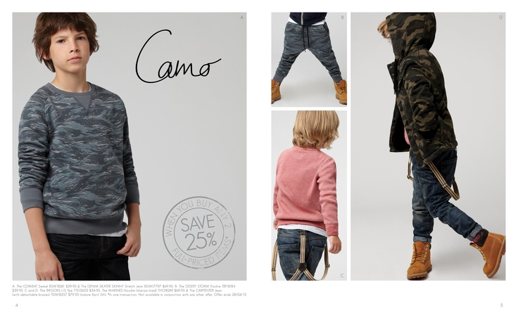 winter 13 catalogue. page 4 & 5. www.industriekids.com.au