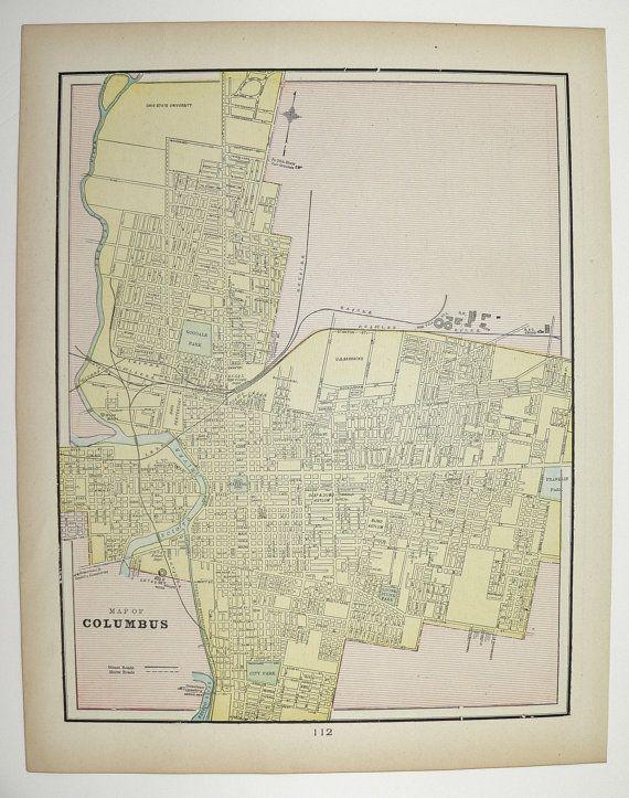 Best Oberlin Mapping Images On Pinterest Columbus Ohio - Columbus ohio on us map