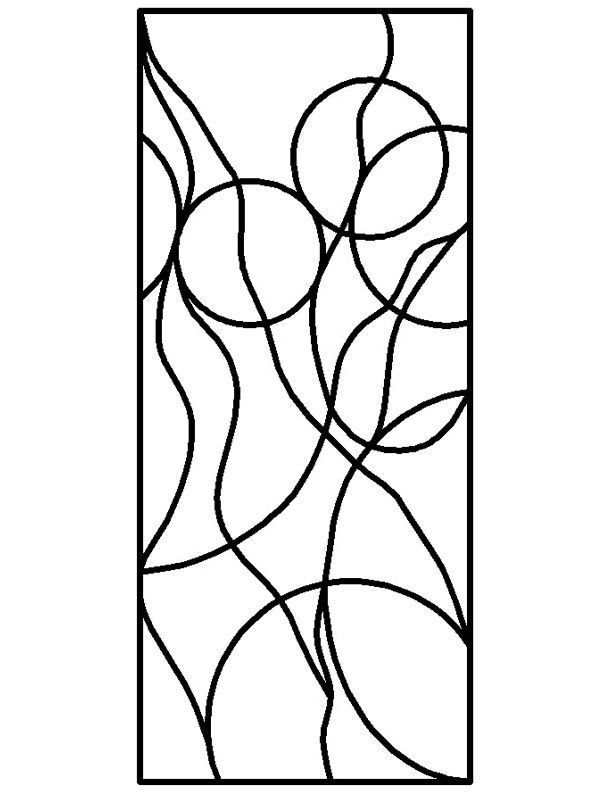 ★ Stained Glass Patterns for FREE ★ glass pattern 210 ★