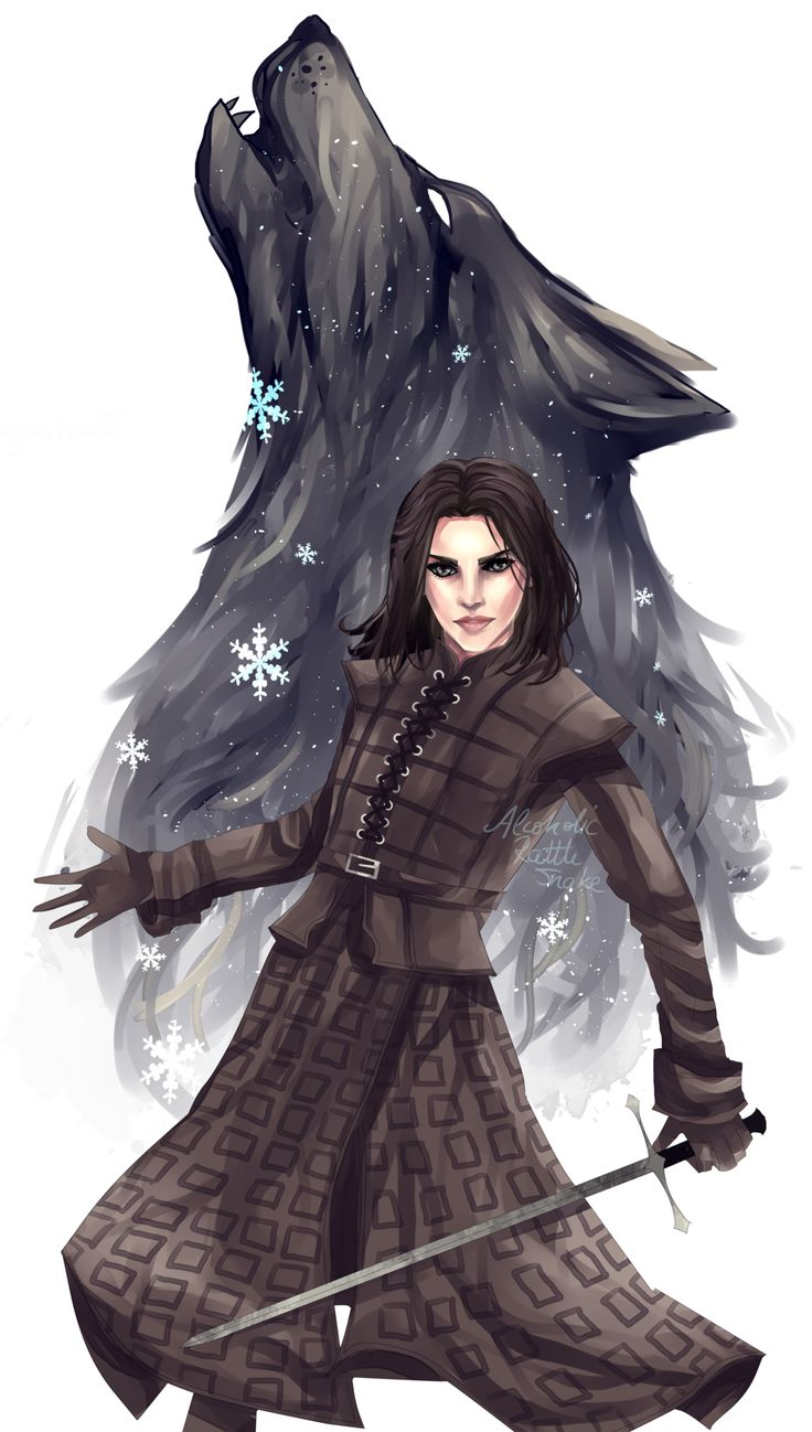 Arya of Winterfell by AlcoholicRattleSnake