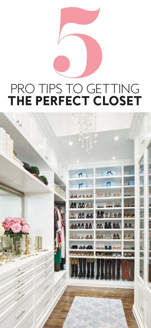 Beautiful Closet Boot Camp Pro Tips to Getting The Perfect Closet