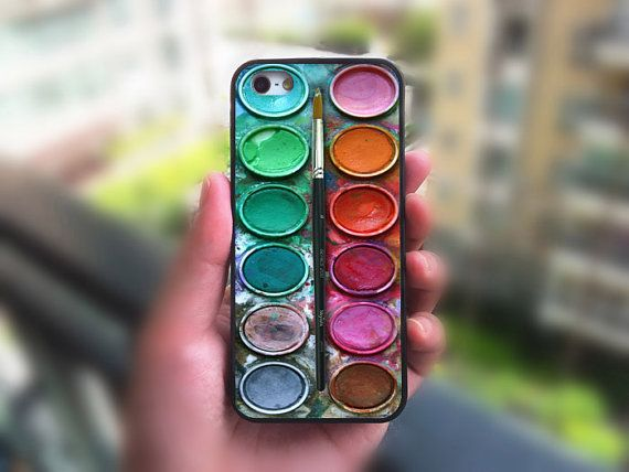 iPhone 5S case,Painting Box,iphone 5C case,iphone 5 case,iphone 4 case,iphone 4s,ipod 4 case,ipod 5 case,Samsung Series,Blackberry Series op Etsy, 11,14 €