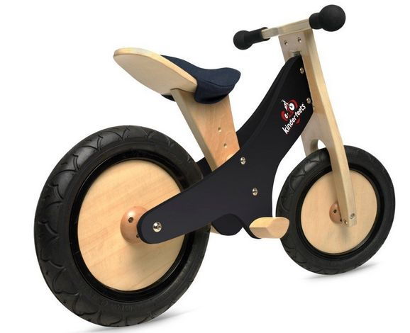 Balance bike with rubber tires