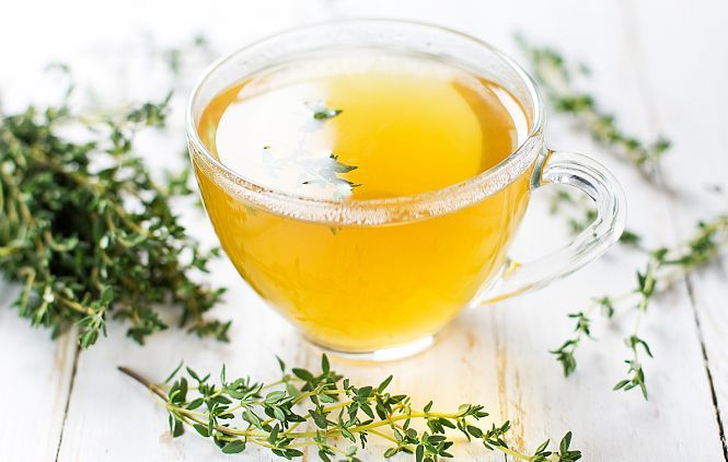 Ceai de cimbru pt.raceala