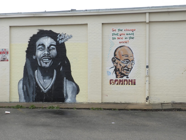 26 best images about graffiti on pinterest gandhi dr for Bob marley mural san francisco