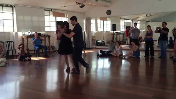 Sebastian Jimenez & Maria Ines Bogado.  Tel Aviv Tango Festival 2015  Wo...