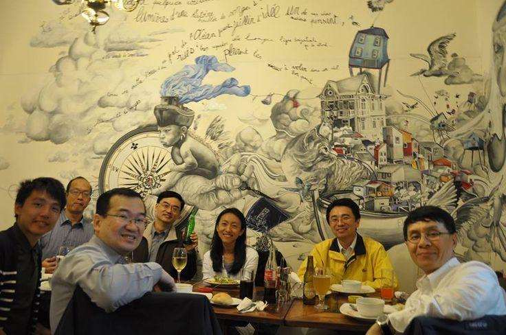 Café del Pintor - Valparaíso Amigos de Hong Kong