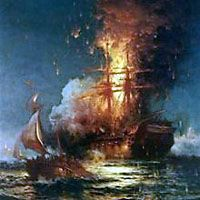 Barbary Wars, 1801–1805 and 1815–1816  The Barbary States were a collection of North African states, many of which practiced state-supported piracy in order to exact tribute from weaker Atlantic powers.