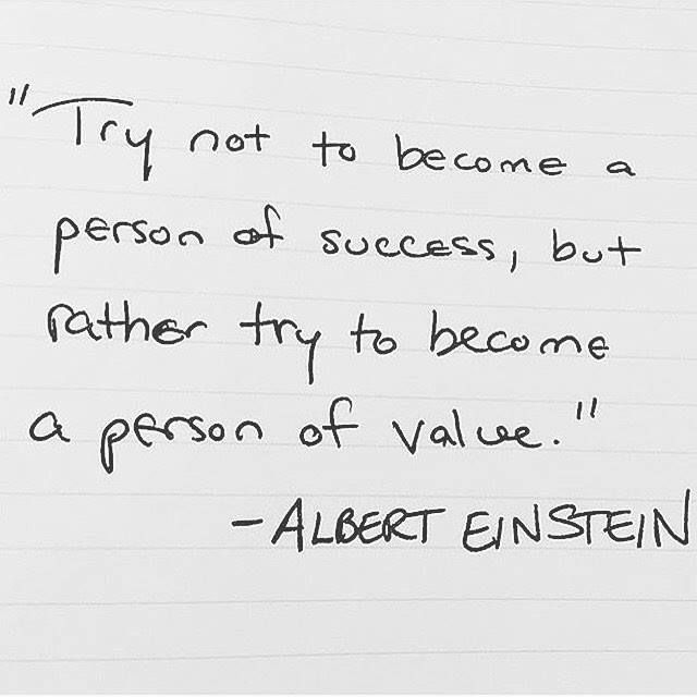 Beautiful life advice from Einstein.  Repost from : @millionaire_hype http://ift.tt/2h5F7TJ #upliftingyourspirit