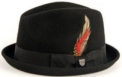 Brixton Ltd Gain Fedora hat, Brixton Ltd hats, Brixton Ltd, trilby hats, porkpie hat, mens hat, womens hat